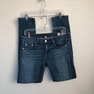 Rag & Bone The Dre Stretch Denim Jeans
